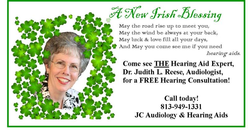 Irish blessing ad